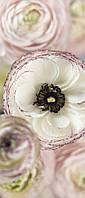 Фотообои на плотной полуглянцевой бумаге для стен 92*220 см из 2 листов: Цветы нежные