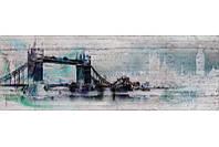 Фотообои на плотной полуглянцевой бумаге для стен 368*127 см из 4 листов: Город Лондон