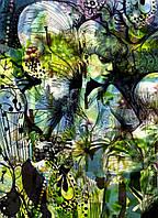 Фотообои на плотной полуглянцевой бумаге для стен 184*254 см из 4 листов: Сад Афродиты