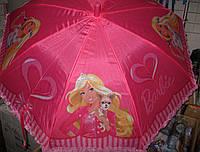 Детский зонт трость Барби