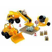 Конструктор Строительная Площадка в коробке 45 деталей Ecoiffier 3161