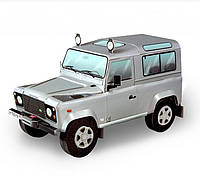 Картонная модель Land Rover Defender 110 Серебристый 146-03 УмБум