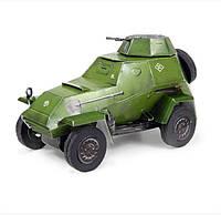 Сборная модель из картона. Серия: Авто. Масштаб 1/24. Бронеавтомобиль БА-64б