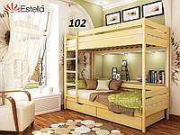 Детская Кровать Дуэт Бук Щит 102 (Эстелла-ТМ)