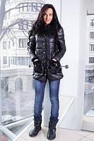 Куртка с мехом на воротнике и карманах