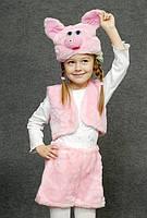 Детский карнавальный костюм Хрюша или Поросенок Свинка