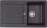 Мойка кухонная TEKA Lugo 45 B TG (чёрный металлик) (40140923)