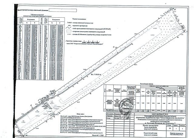 Продажа лагистического действующего комплекса, Одесская область, Беляевский район, г. Теплодар