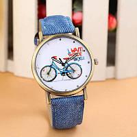 Стильные спортивные часы (Спорт) ремешок под джинс