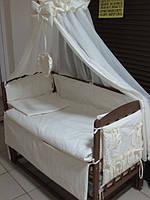 """Постельное бельё в детскую кроватку """"Элит Baby жакард линия"""" 10 эл."""