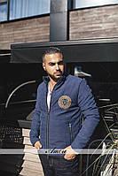 Мужская куртка парка на молнии
