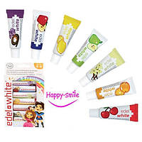 """Зубная паста для детей Edel White """"7 фруктов"""", 65 мл/1мл"""