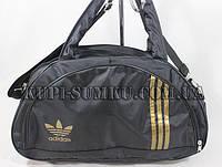 Спортивная сумка ADIDAS с золотистым логотипом