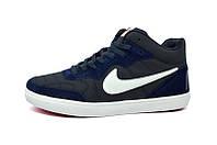 Кроссовки Nike High Blue White (реплика)
