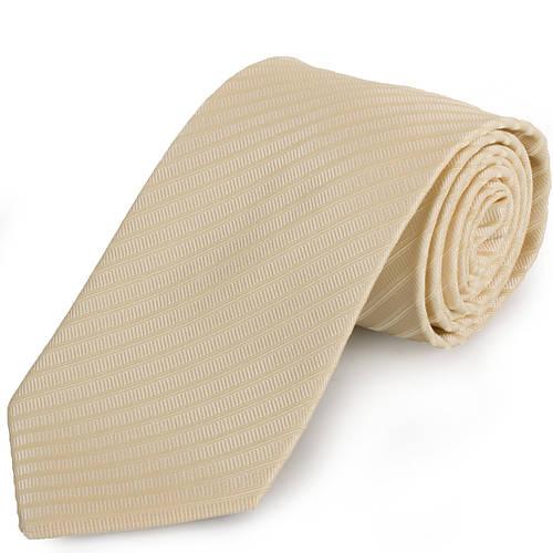 Нарядный мужской широкий галстук SCHONAU & HOUCKEN (ШЕНАУ & ХОЙКЕН) FAREPS-49 бежевый