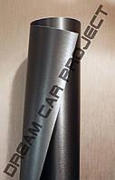 Темно-серый шлифованный алюминий, виниловая пленка 1.00 х 1.52