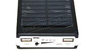 Внешний аккумулятор Power Bank UKC 15000 mAh - ФОНАРЬ, Solar на солнечной батарее