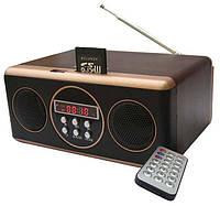 Портативная MP3 колонка SU-11, музыка MP3 с USB- флеш, SD-карты, FM-радио, пульт ДУ, аккумулятор, 530г