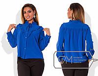 Нарядная блузка больших размеров
