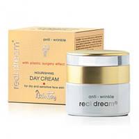 Dzintars Real Dream Anti-Wrinkle (Дзинтарс Риал Дрим Анти-Вринкл) Питательный дневной крем от морщин для сухой и чувствительной кожи лица 50 мл