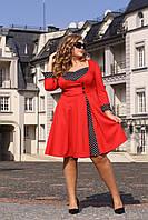 Женское платье больших размеров в ретро-стиле (рр 48-94), разные цвета