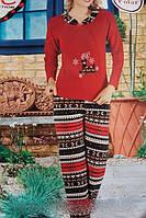 Пижама женская флис 2040
