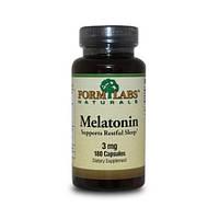 Витамины Melatonin FORM LABS Naturals 3 мг 180 табл