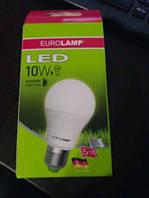 Электролампа LED 10 Ватт.  Е 27 толстый цоколь