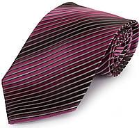Классический мужской широкий галстук SCHONAU & HOUCKEN (ШЕНАУ & ХОЙКЕН) FAREPS-53 розовый