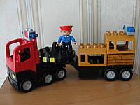 LEGO,Лего DUPLO ,машина с мигалкой