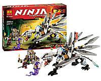 Конструктор Ninja 10323 Титановый Дракон. Конструкторы типа Лего. Конструктор Ниндзя 10323 Драко, 359 деталей.