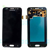 Дисплей Samsung J200H Galaxy J2 с тачскрином черный Оригинал GH97-17940C