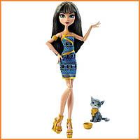 Кукла Monster High Клео де Нил (Cleo De Nile) из серии Ghoul's Beast Pet Монстр Хай