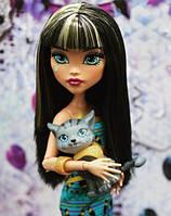 Кукла Monster High Клео де Нил (Cleo De Nile) Монстры с питомцами Монстер Хай Школа монстров
