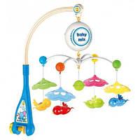 Каруселька пластиковая Baby Mix HS-1660M Птички