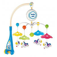 Каруселька пластиковая Baby Mix HS-1663M Лошадки