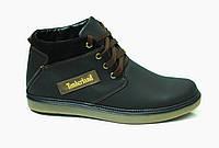 Ботинки Timberland ADVENTURE чёрные, зима, кожа