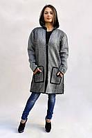 Светло-серая женская курточка