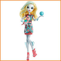 Кукла Monster High Лагуна Блю (Lagoona Blue) из серии Ghoul's Beast Pet Монстр Хай