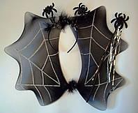 Набор (крылья, ободок, палочка) паук