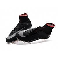 Футбольные бутсы Nike Hypervenom Phantom II Neymar x Jordan FG Black - 1350