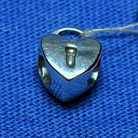 Шарм серебро Сердце к браслету Пандора 3008