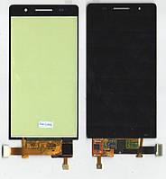 Дисплей + сенсор Huawei Ascend P6-U06, черный, с тачскрином