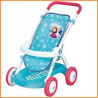 Игрушечная прогулочная коляска для кукол Frozen Smoby 254045