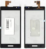 Сенсор LG P765 Optimus L9 чёрный