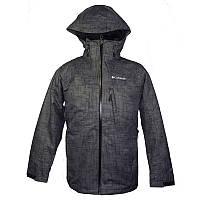 Мужская куртка 3 в 1 Columbia WHIRLIBIRD™ INTERCHANGE JACKET черная WM1164 011