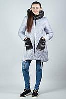 Молодежная куртка с меховым карманом (42-52)