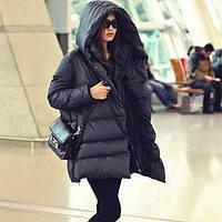 Куртка зимняя цвет черный, наполнитель-холофайбер