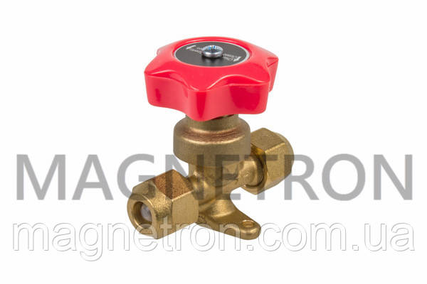 """Кран ручной (клапан) для кондиционеров 3/8"""" VAHV-3/8F (HAHV-3/8F), фото 2"""