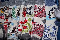 Носки женские из овечьей шерсти